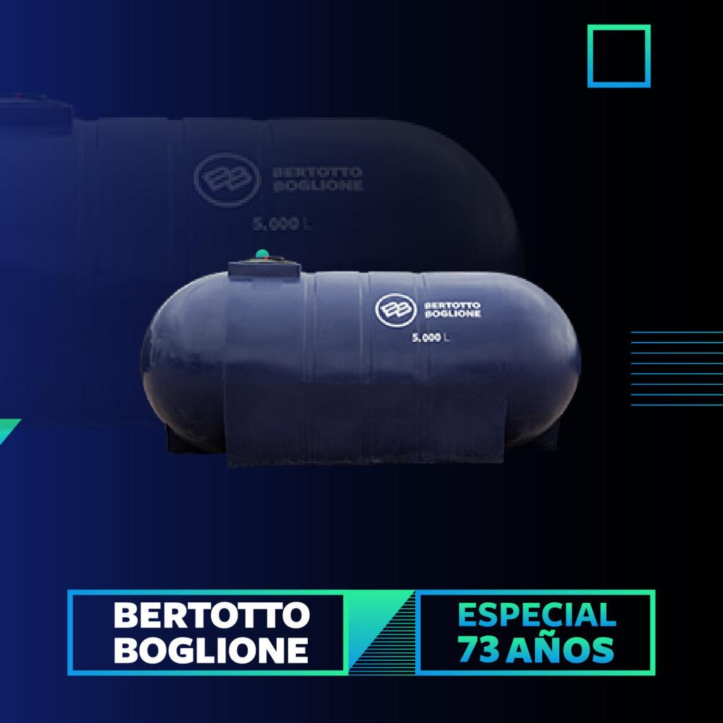 Tanque de 5.000 Lt esferico horizontal